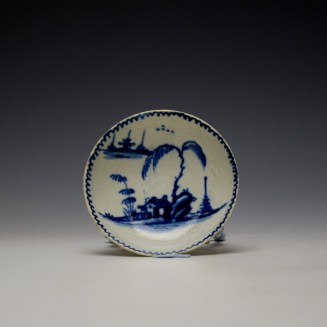 John Pennington House Fence and Willow Pattern Toy Trio c1775-85 (14)