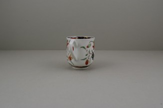 Worcester Porcelain Kempthorne Pattern Coffee Cup and Saucer, C1768-75 (6)