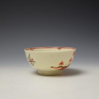 Liverpool John Pennington Mandarin Pattern Small Bowl c1775 (2)