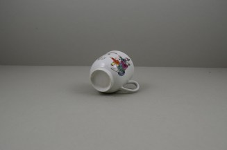 Worcester Porcelain Mandarin Dog and Butterfly Pattern Coffee Cup C1770 (8)