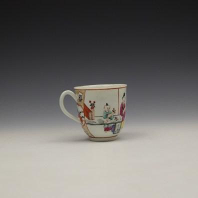 Worcester Mandarin Naughty Child Pattern Coffee Cup c1770-80 (4)