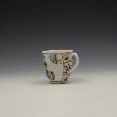 Worcester Mandarin Naughty Child Pattern Coffee Cup c1770-80 (6)