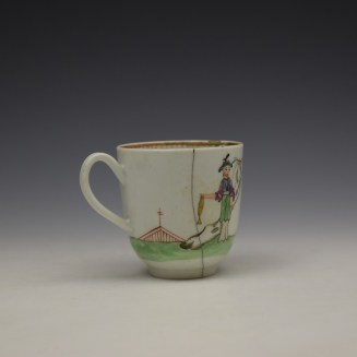 Worcester Mandarin Pattern Replacement Coffee Cup c1768-70 (4)