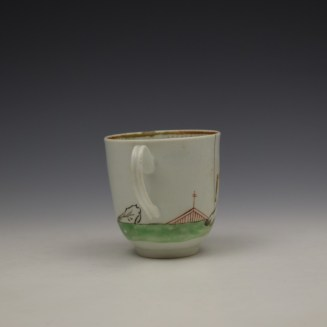 Worcester Mandarin Pattern Replacement Coffee Cup c1768-70 (5)