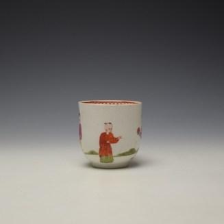 Bow Mandarin Pattern Coffee Cup c1765-70 (2)