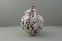 Worcester Mandarin Table for Tea Pattern Teapot and Cover. 7