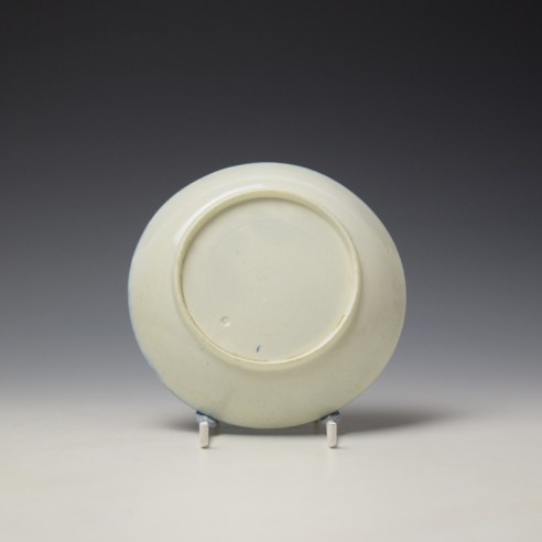 Caughley Mother and Child Pattern Teabowl and Saucer c1776-90 (8)