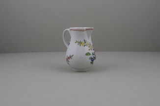 Liverpool Porcelain Christian's Rose Pattern Sparrow Beak Jug C1770 (3)