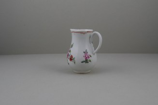 Liverpool Porcelain Christian's Rose Pattern Sparrow Beak Jug C1770 (6)