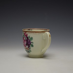 worcester polychrome floral coffee cup c1775 (5)