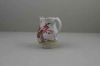 Lowestoft Porcelain Rare Bull Pattern Sparrow Beak Jug, C1772 (6)