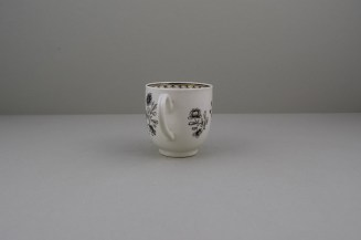Worcester Pencilled Coffee Cup, C1765 (6)