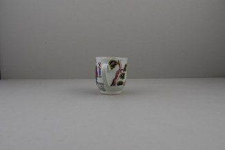 Liverpool Porcelain Richard Chaffers Mandarin Pattern Coffee Cup (5)