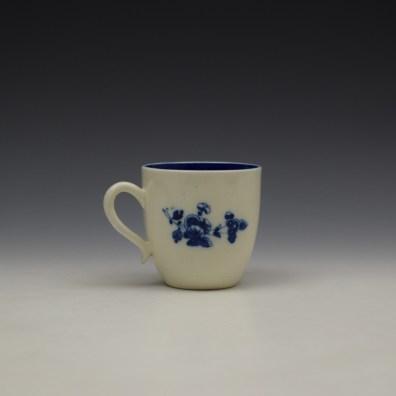 Caughley Salopian Sprigs Pattern Coffee Cupc1785-95 (3)