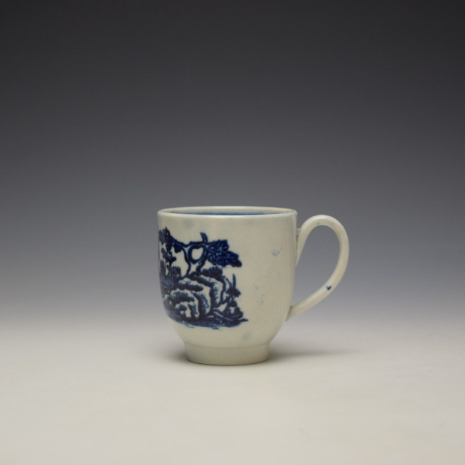 Liverpool Seth Pennington Porter and Ferry Boat Pattern Coffee Cup c1780-90 (1)