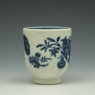Caughlet Three Flowers Pattern Coffee Cup c1777-99 (2)