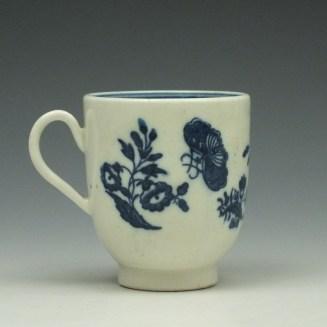 Caughlet Three Flowers Pattern Coffee Cup c1777-99 (3)