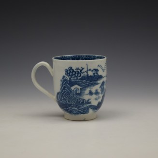 Caughley Fenced Garden Pattern Coffee Cup c1782-92 (4)