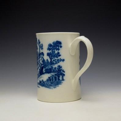 Caughley La Peche La Promenade Chinoise Pattern Mug c1776-92 (6)