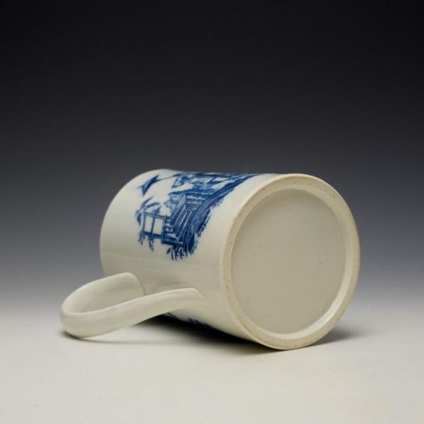 Caughley La Peche La Promenade Chinoise Pattern Mug c1776-92 (8)