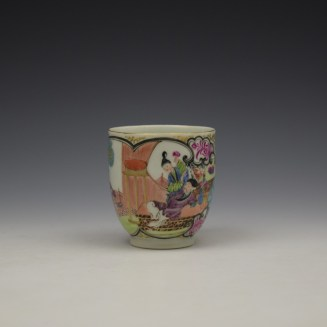 Worcester James Giles Decorated Mandarin Pattern Coffee Cup c1775-85 (2)
