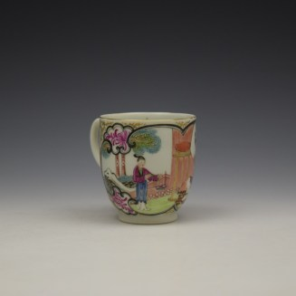 Worcester James Giles Decorated Mandarin Pattern Coffee Cup c1775-85 (3)