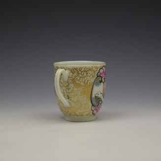 Worcester James Giles Decorated Mandarin Pattern Coffee Cup c1775-85 (5)