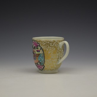 Worcester James Giles Decorated Mandarin Pattern Coffee Cup c1775-85 (7)
