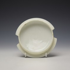 Worcester Fence Pattern Butter Tub and Cover c1765-85 (8)