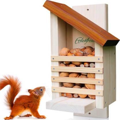 Eichhörnchen Futterhaus Erdenfreund