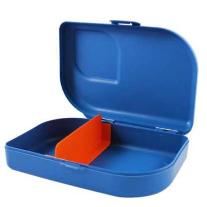 Plastikfreie Brotbox blau