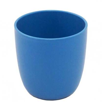Plastikfreier Becher blau