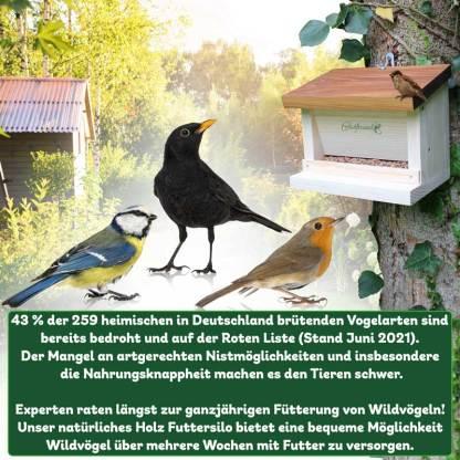 Futtersilo Vogelhaus