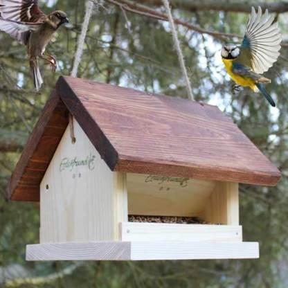 Vogelfuttersilo zum Aufhängen Erdenfreund Umweltshop