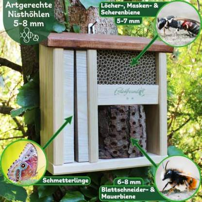 Wildbienenhotel Bienensterben