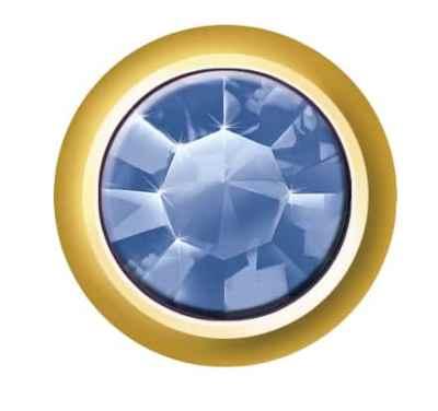Regular Bezel Set - SWAROVSKI ELEMENTS - Sapphire