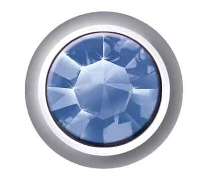 Regular Bezel Set - SWAROVSKI ELEMENTS - Sapphire