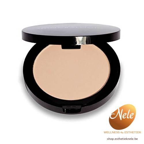 Mineralogie Minerale Make-up Compacte foundation Agate Wellness Esthetiek Nele