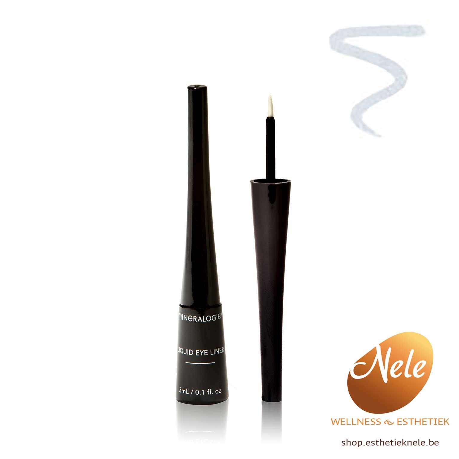 Mineralogie Minerale Make-up Liquid EyeLiner Nude Wellness Esthetiek Nele