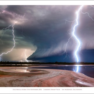 Electrical Storm Mildua, Fine Art Print by Excitations photographers, for sale on Excitations Online shop.