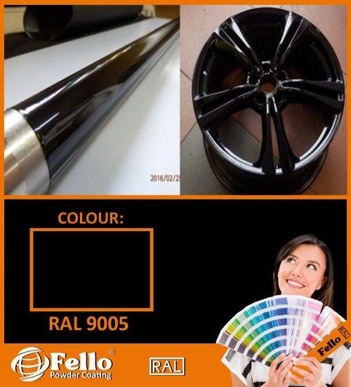 farba proszkowa ral 9005
