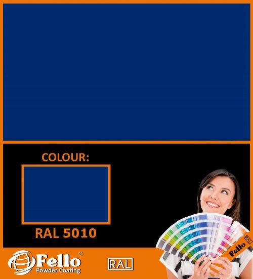 farba proszkowa ral 5010