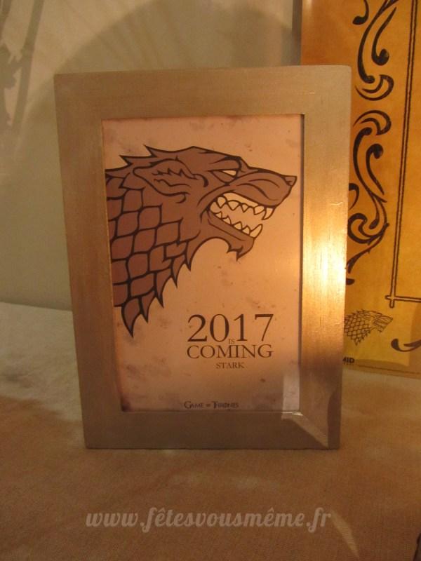 Kit déco Game of Thrones - Centre de table - Fêtes vous même