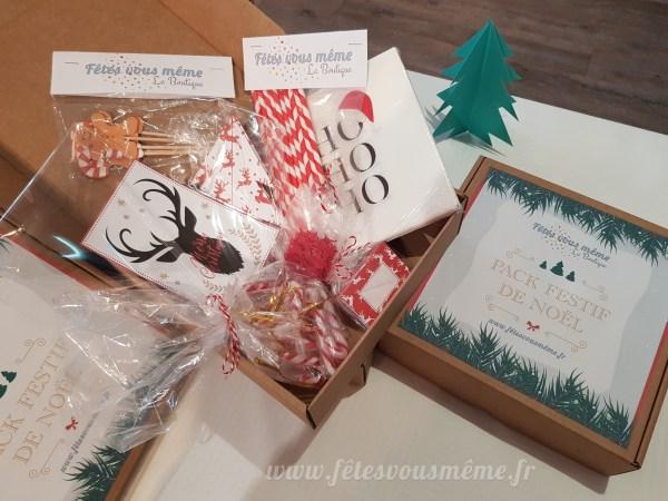 Pack festif Noël - Fêtes vous même