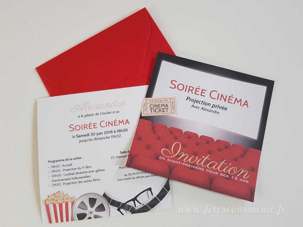 invitation cinema