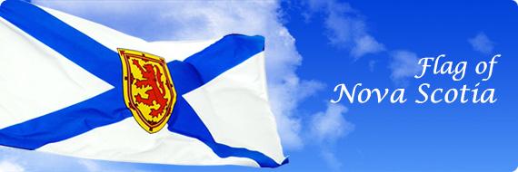 Nova Scotia Flags, Flag of Nova Scotia