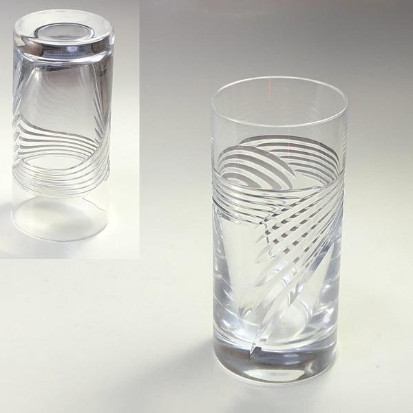 クリスタルガラスコップT2055