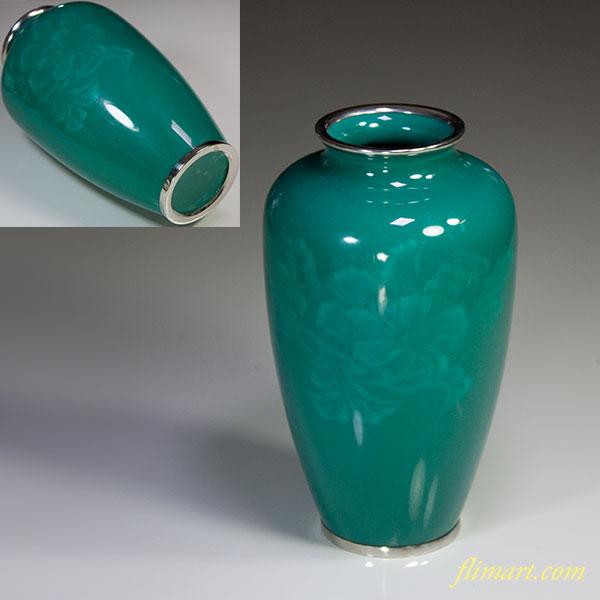 熱化七宝花瓶