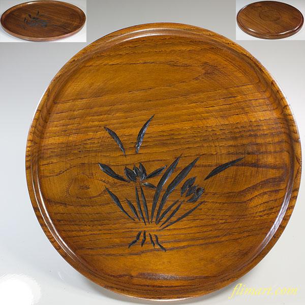 木製九寸盆W6004