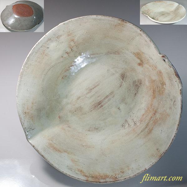 七寸皿W7075